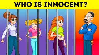 Who Is Innocent 12 Brain Racking Riddles