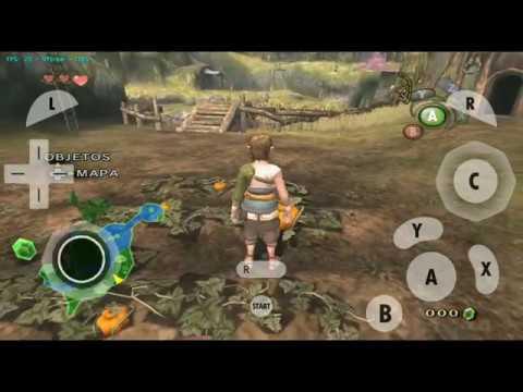 Zelda Twilight Princess HD ANDROID (Dolphin Emulator FULL SPEED)