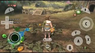 Zelda Twilight Princess HD ANDROID (Dolphin Emulator FULL SPEED)