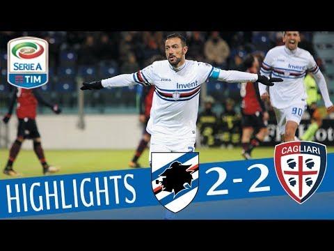 Cagliari - Sampdoria 2-2 - Highlights - Giornata 16 - Serie A TIM 2017/18