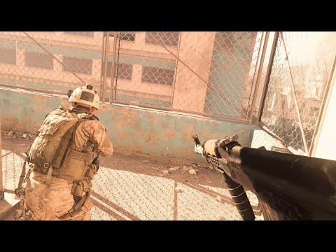 Call Of Duty: Modern Warfare Gameplay Walkthrough - Mission 6 - Hunting Party - PC 4K