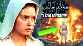 "The Rise Of Skywalker TV Spot Breakdown! ""DUEL"" New Footage (Star Wars Episode 9)"