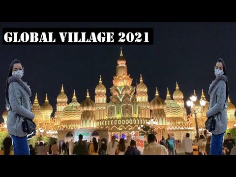 Trip to globe year started 2021 dubai uae (global village)