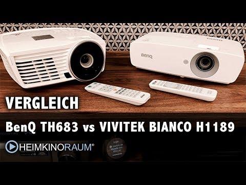 BenQ T683 vs Vivitek Bianco H1189 - Lohnt sich der Aufpreis?