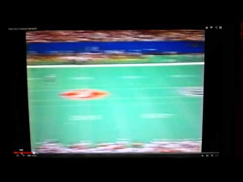 Todd Sauerbrun of Ward Melville High School 1994 season opener vs The Cornhuskers of Nebraska