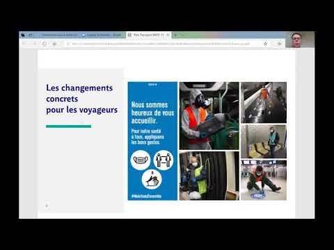 Nos déplacements face au déconfinement : échanges sur la préparation avec la RATP et la SNCF
