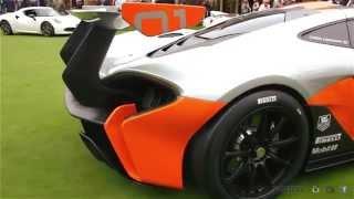 McLaren P1 GTR Concept 2014 Videos