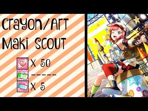 Love Live! SIF || Crayon Maki Scout