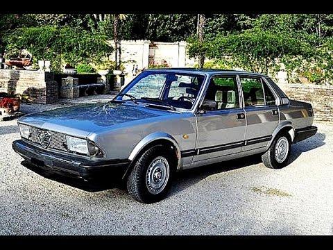 Alfa Romeo Alfa 6 2.0 6V, Model Year 1984