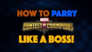 How To Parry in Marvel Contest of Champions: A Comprehensive Guide