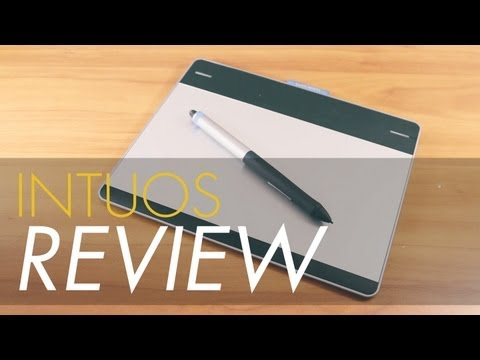Wacom Intuos Pen and Touch Review! (CTH480) - YouTube