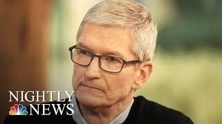 One-On-One With Tim Cook | NBC Nightly News