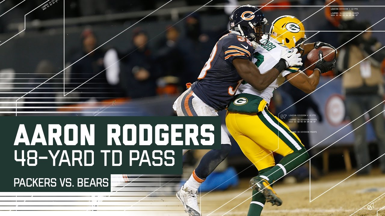 Packers Vs Bears 5 Times Aaron Rodgers Packers Devastated Chicago