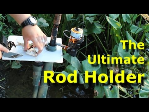 Build The Ultimate Fishing Rod Holder Diy Rod Holder Youtube