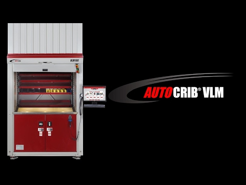 The First Vertical Lift System Equipped with a User-Friendly Interface - AutoCrib VLM