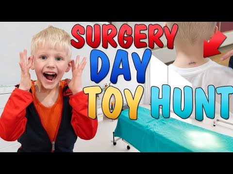 Surgery Day Surprise Toys Hunt