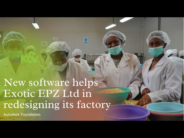 New software helps Exotic EPZ Ltd in redesigning its factory