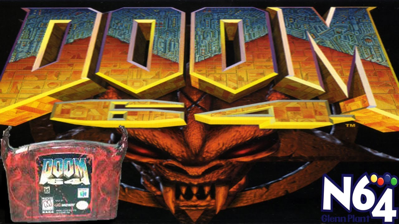 Doom Wallpaper Hd Doom 64 Nintendo 64 Review Hd Youtube