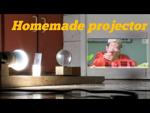 projector using old mobile. Simple project for students.