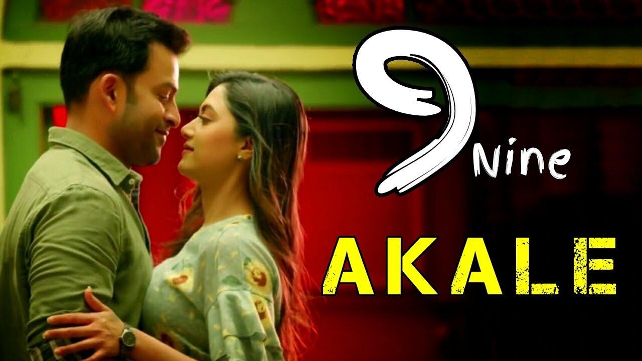 Akale 9 Nine Akale Oru Tharakamayi Video 9 Nine Malayalam Movie Song Akale Oru Tharakamo Status Youtube