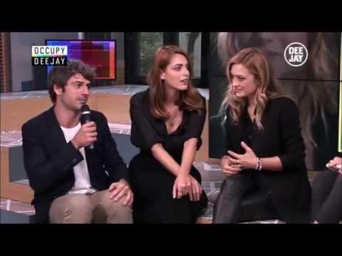 Miriam Leone, Carolina Crescentini e Luca Argentero @ Occupy Deejay 01.10.14