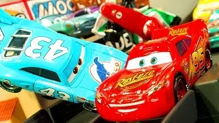 Cars Piston Cup 500 Race Track Ultimate Disney Pixar Cars2 Speed Stunts Crashes & Smashes ToysRUs