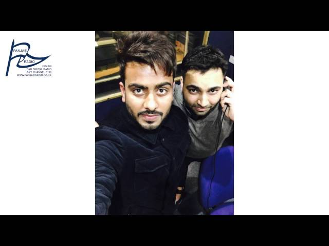 MANKIRT AULAKH Live Interview at Panjab Radio with Vishal Johal 2016