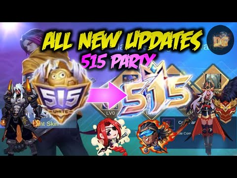 ALL NEW UPDATES - Mobile Legends: Bang Bang!