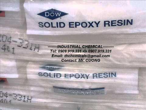 Bán EPOXY RESIN DER 671; NHỰA ; MỰCIN ; DOW EPOXY RESIN-USA ;THCHEMICALS