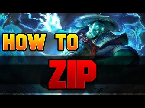 Dota 2 How to ZIP! (Global Rampage)
