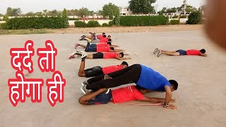 Army rally running exercise/ Day -3