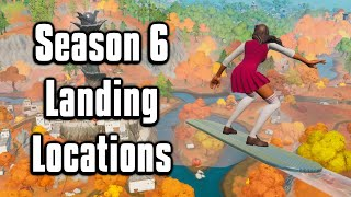 Top 7 Landing Spots For Arena + Cash Cups! - Fortnite Chapter 2 Season 6