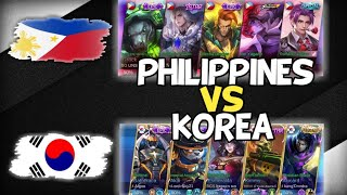 Philippines Pinaglaruan Ang Korea Pati Lord Nadamay😂 - National Arena Contest - Mobile Legends