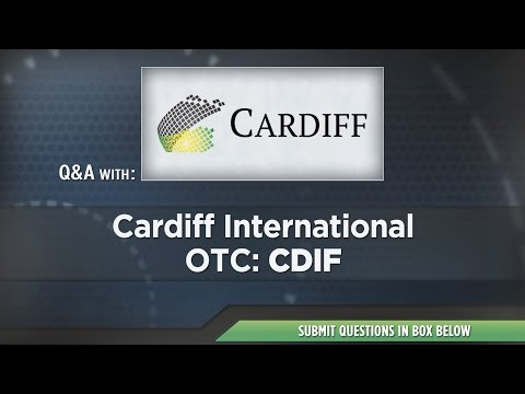 Cardiff International Presentation at RedChip's Jan 2017 Conference