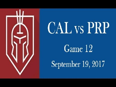 Christian Academy of Louisville Soccer 2017 vs PRP Game 12
