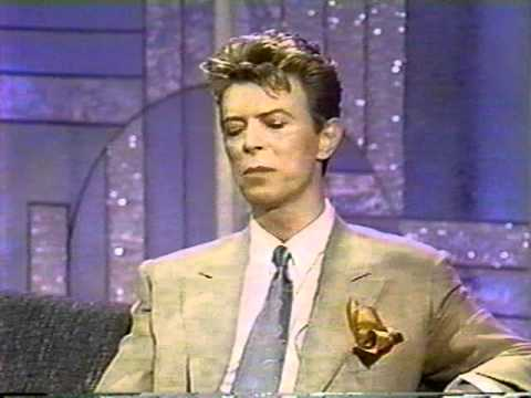 Part 2-David Bowie on Arsenio Hall Show. July '93.