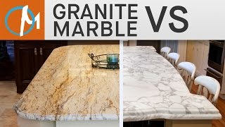 Granite vs. Marble Countertops - Marble.com TV Channel - Counter Intelligence