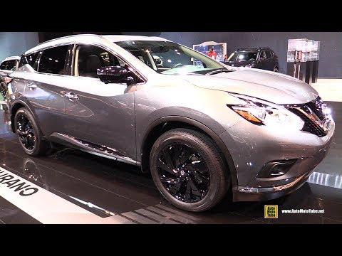 2017 Nissan Murano Midnight Edition Exterior and Interior Walkaround 2017 Chicago Auto Show
