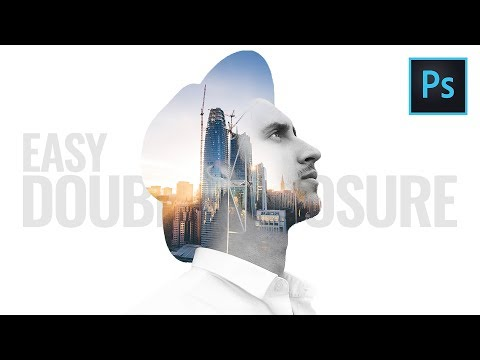Double Exposure Effect Photoshop Tutorial (Easy) thumbnail