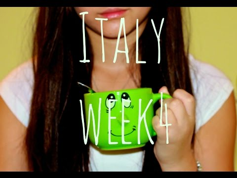 My AFS exchange in Italy. A day of my life. {Week 4}