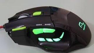 UNBOX-Mouse Gamer Óptico Multilaser 2400 DPI