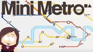 Mini Metro    Minimalist Transit Strategy Game