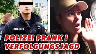 Verfolgungsjagd mit der POLIZEI !!! PRANK