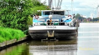 GMS TiMAJA DC6095 MMSI 211432400 Emden river barge Binnenschiff