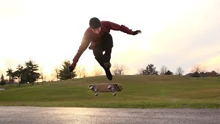 the eo mike osterman freestyle skateboarding