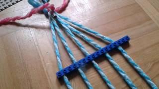 Mi uzis LEGO-n por fari ŝnuregon | I used LEGO to make a rope | #Esperanto