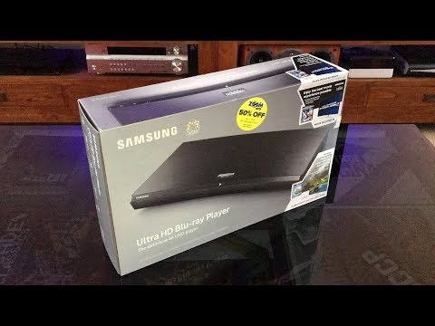 Samsung UBD-M9500 4K Ultra HD Blu-ray Player (unboxing & review)