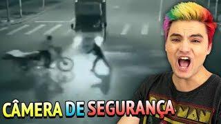 10 COISAS BIZARRAS FILMADAS NA CÂMERA DE SEGURANÇA