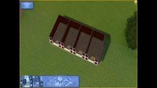 Sims 3 :A la recherche de la Licorne : Création terrain 1 : Les boxes !