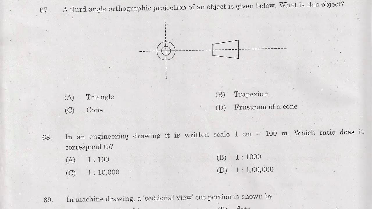RRB JE 2014 Question Paper